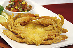 Corn Dusted Soft Shell Crabs