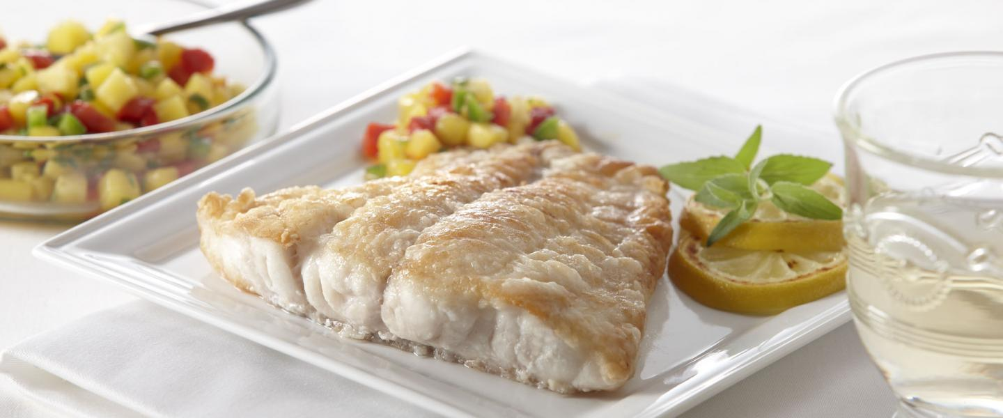 Grouper natural fillets 8 oz. portions