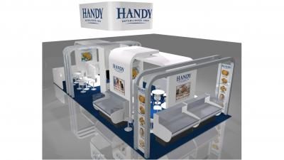 Handy International Debut of New Seafood Show Booth