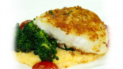 Parmesan Encrusted Grouper Recipe