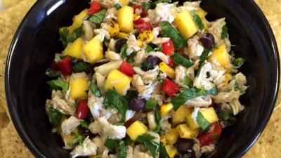 Crab, Mango & Corn Salsa Recipe