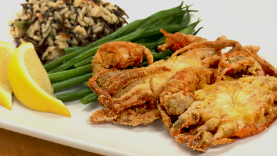 Sauteed Soft Crab