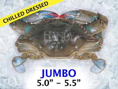 Chilled Dressed Soft Crab - Jumbo