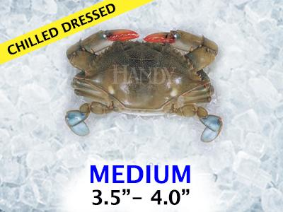 Chilled Dressed Soft Crab - Mediums